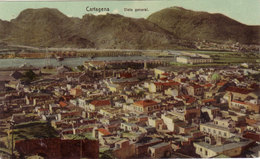 CARTAGENA-CARTOLINA VIAGGIATA COME DA FOTO - Spagna