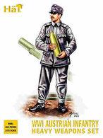 Hät Industrie Inc. 8081 WWI Austrian Infantry Heavy Weapons Set. - Figuren