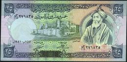 SYRIA - 25 Pounds 1991 UNC P.102 E - Syrië
