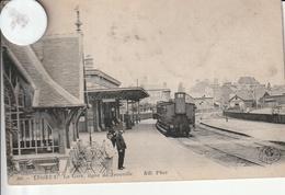 14 -Très Belle Carte Postale Ancienne De   LISIEUX   La Gare - Lisieux