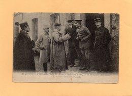 F2803 - Au Presbytère D'HOMBLIERES - Officiers Français Et Délégués Allemands - Armistice Novembre 1918 - France