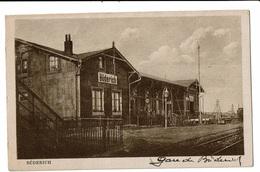 CPA - Carte Postale -Allemagne-Buderich A Rhein -Station - 1923--VM1784 - Duesseldorf
