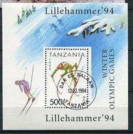 Benin Ob - Bloc 228 - JO De Lillehammer - - Bénin – Dahomey (1960-...)