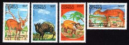 Congo 1997 Strip Of 4 Stamps Mi#1508-1511 MNH - Congo - Brazzaville