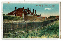 """CPA - Carte Postale -Allemagne-Buderich A Rhein -Fort """"Blücher"""" Am Rhein-1922--VM1785 - Duesseldorf"""