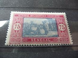 TIMBRE  SÉNÉGAL   N  84A      COTE  2,30  EUROS   NEUF  SANS  CHARNIÈRE - Senegal (1887-1944)