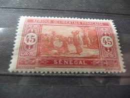 TIMBRE  SÉNÉGAL   N  80      COTE  0,90  EUROS   NEUF  SANS  CHARNIÈRE - Senegal (1887-1944)