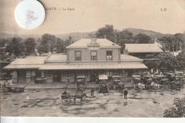 14 -Très Belle Carte Postale Ancienne De  HOULGATE   La Gare - Houlgate