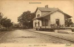 280319C - 02 BOURBONNAIS - MOLLES La Gare - Chemin De Fer Wagon - Idéal - Autres Communes