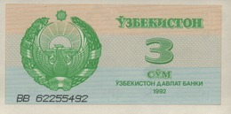 OUZBEKISTAN  3-5-25 SUM De 1992  Pick 62-63-64 - Ouzbékistan