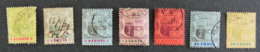 ILE MAURICE - MAURITIUS - 1902 - YT 111 à 113 / 115 à 117 / 119 - ARMOIRIES - Mauritius (1968-...)