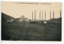 Saint Georges De Monclar Le Quartier De La Gare (tramway En Gare) - France