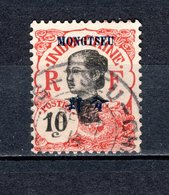 MONG TZEU   N° 38   OBLITERE  COTE 3.00€    FEMME - Mong-tzeu (1906-1922)