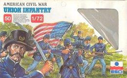 ESCI 222 American Civil War Union Infantry. - Figuren