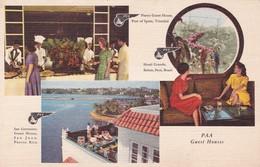 PUERTO RICO. SAN GERONIMO GUEST HOUSE, SAN JUAN. PANAGRA. CPA CIRCA 1960s - BLEUP - Puerto Rico