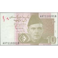 TWN - PAKISTAN 45m - 10 Rupees 2018 Prefix AXT AU - Pakistan
