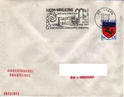 FRANCE : 1967 - Luçon - Luçon-Maillezais 650 Ans D'histoire - France