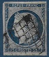 Cérès N° 4a - Cote : 75 € - 1849-1850 Ceres