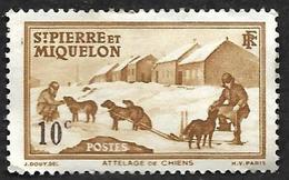 ST PIERRE ET MIQUELON  1938 -  YT 171 - Attelage    - Nsg - St.Pierre Et Miquelon