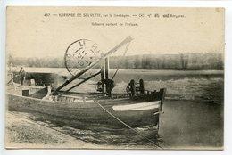 Bergerac Barrage De Salvette Gabarre Sortant De L'écluse - Bergerac