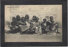 CPA Erythrée Afrique Colonie Italienne Italie Type Ethnic ERITREA Non Circulé - Eritrea