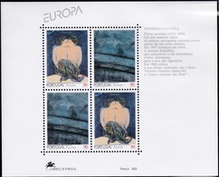 1993, Azoren, 434/35 Block 13 , Europa: Zeitgenössische Kunst. MNH ** - Azores
