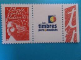 TIMBRE , PERSONNALISE No:3587A , MARIANE Du 14 JUILLET Avec Logo , XX,timbre En Bon état - Personalized Stamps