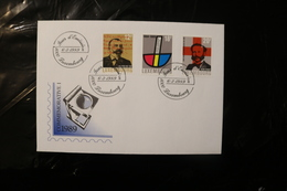 Luxembourg Spoo Federation HENRI DUNANT Red Cross 1989 Day Of Issue Cancel 04s - FDC