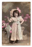(Enfants) 831, Portrait D'enfant, SIP 1781, Fillette Avec Une Ombrelle, état - Abbildungen