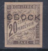 Obock Taxe N° 12 X Partie De Série : 20 C. Noir Trace De Charnière Sinon TB - Unused Stamps
