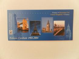 FRANCE YT P3657 CARNET RELATIONS FRANCE-GB** - France