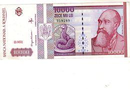 Billet De Roumanie - 10.000 Lei  Février 1994 T T B + - Roumanie