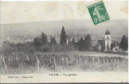 VAIVRE Vue Générale - France