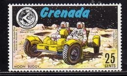 GRENADA GRENADINES 1971 SPACE SPAZIO APOLLO 15 MOON BUGGY CENT. 25c MNH - Grenada (1974-...)