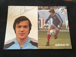 Foot équipe De France Emon Albert 1979 - Soccer
