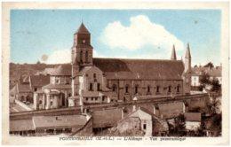 49 FONTEVRAULT - L'abbaye - Vue Panoramique - France