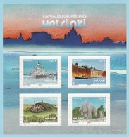 France 2019 - Capitales Européennes : Helsinki : Tirage 400 000 Exemplaires - Blocks & Kleinbögen