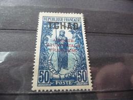 TIMBRE  TCHAD   N  31      COTE  1,50  EUROS   NEUF  SG - Chad (1922-1936)