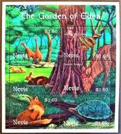 Nevis 2001**MI.1668-73. The Garden Of Eden , MNH [4;46] - Ohne Zuordnung
