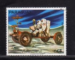 PARAGUAY 1975 1976 AIR MAIL SPACE SPAZIO POSTA AEREA AUTO LUNAR MOON Gs 4 MNH - Paraguay