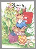 Dressed Mice Mouse Mushrooms Mailbox Souris Champignon Maus Pilz - Unused - Otros