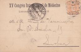 Portugal -XV Congrés International De Médicine  16 -Abril-1906 - Marcofilia