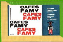Buvard & Blotting Paper : Café FAMY - Coffee & Tea