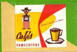 Buvard & Blotting Paper : Café FAMILISTERE - Coffee & Tea