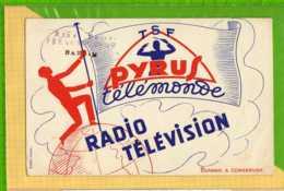 Buvard & Blotting Paper : TSF PYRUS Telemonde Radio Television BARLIN - Electricidad & Gas