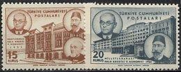 Turquie, N° 1193 à N° 1194** Y Et T - 1921-... République