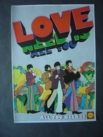 Affiche 1969 - Beatles - All You Need Is Love - All You Need Is Shell - Affiches