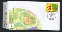 Belgium 2014 FIFA World Cup Brasil OCB  4422 (0) - FDC