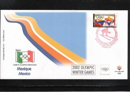 Mexico 2002 Olympic Games Salt Lake City FDC - Winter 2002: Salt Lake City