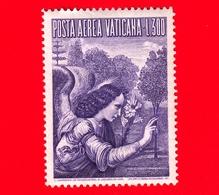 Nuovo - VATICANO - 1956 - Arcangelo Gabriele -  POSTA AEREA - Dipinto Di Leonardo Da Vinci - 300 - Posta Aerea